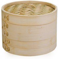 Moka 2 Tier Bamboo Steamer, 20cm