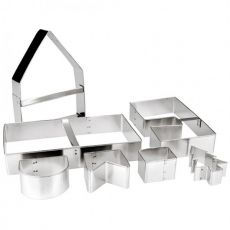7pc Cookie Cutter Set, House