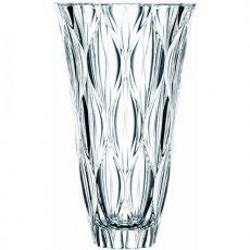 Harlekin Lead-Free Crystal Vase, 30.5cm