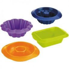 Blueberry Set Of 4 Mini Baking Moulds