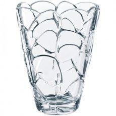 Petals Lead-Free Crystal Vase, 22cm