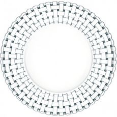 Bossa Nova 32cm Lead-Free Crystal Shallow Bowls, Set Of 2