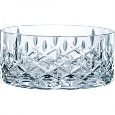 Noblesse Set Of 2 Lead-Free Crystal Bowls, 18cm