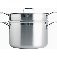 Triply Stainless Steel Pasta Pot With Sieve, 7.2 Litre