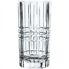 Square Lead-Free Crystal Vase, 28cm