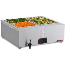 Tabletop Bain Marie, 2 Division