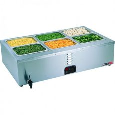Tabletop Bain Marie, 3 Division