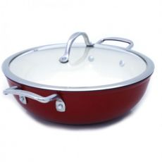 Superlight Cast Iron Round Casserole, 30cm