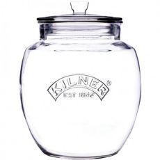 Universal Push-Top Storage Jar, 4 Litre