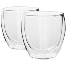 Double Walled Glasses, 250ml, Set Of 2