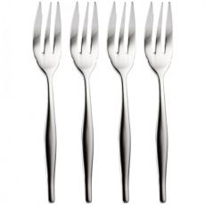 Cake Fork Set, 4pc, Slimline