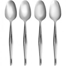 Dessert Spoon Set, 4pc, Slimline