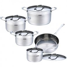 Stainless Steel Cookware Set, 10pc