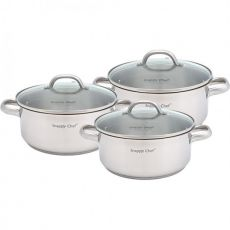 Budget Cookware Set, 6pc,
