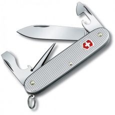 Pioneer Soldier Silver Alox Pocket Knife