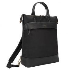 "Newport 15"" Laptop Convertible Tote Backpack, Black"