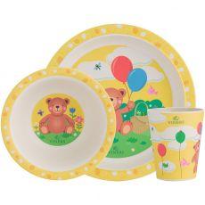 3pc Fibre Bamboo Kids Eatware Set, Bertie