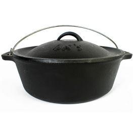 Cast Iron Bake Pot