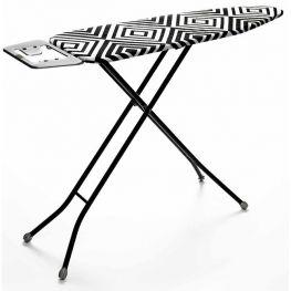 Mesh Ironing Board, Black & White