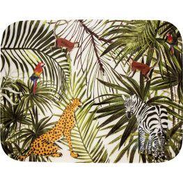Melamine The Wilds Rectangular Tray, 38cm