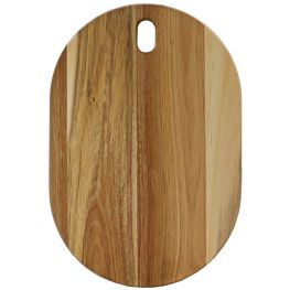 Acacia Wood Oval Serving Board, 38.5cm