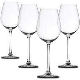 Salute White Wine Glasses, Set Of 4