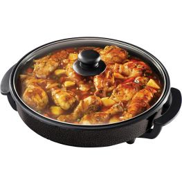 Round Electric Frying Pan, 4.5 Litre