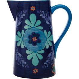 Majolica Pitcher, 2.4 Litre