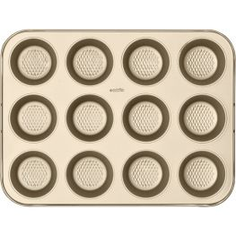Gold Non-Stick 12 Cup Muffin Pan