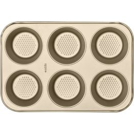 Gold Non-Stick 6 Cup Giant Muffin Pan