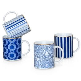 Mykonos Mugs, Set Of 4