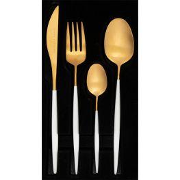 Satin Cutlery Set, 16pc