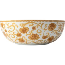 Mica Gold Salad Bowl