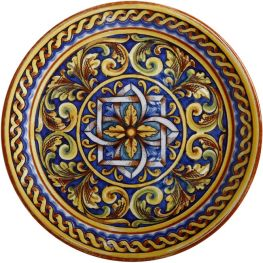 Salerno Round Platter, 31cm