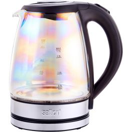 Rainbow Glass Kettle, 1.7 Litre