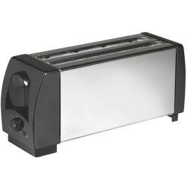 4 Slice Toaster, Black & Chrome