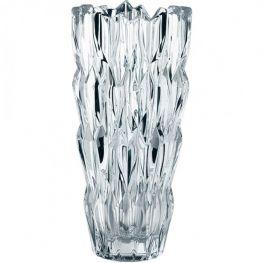Quartz Lead-Free Crystal Vase, 26cm