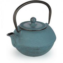Oriental Cast Iron Tetsubin Teapot With Infuser, Azure, 1.2 Litre
