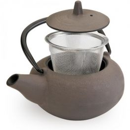 Oriental Cast Iron Tetsubin Teapot With Infuser, Laos, 400ml