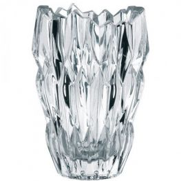 Quartz Lead-Free Crystal Vase, 16cm
