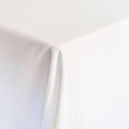 Basic White Tablecloth, Square