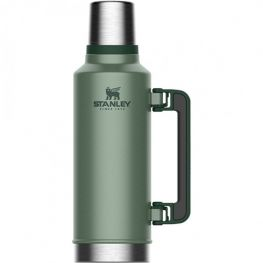 Classic Hammertone Vacuum Flask With Handle, 1.9 Litre