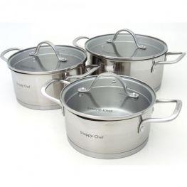 Platinum Cookware Set, 6pc