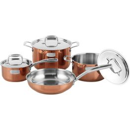 25th Anniversary Edition Stainless Steel Cookware Set, 7pc