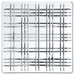 Square Lead-Free Crystal Platter, 28cm