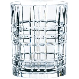 Square Lead-Free Crystal Whiskey Glasses, Set Of 4
