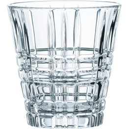 Square Lead-Free Crystal Stackable Tumblers, Set Of 4