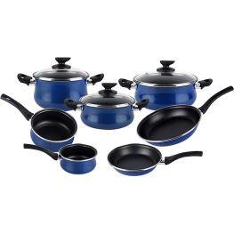 Vitrinor Paula Non-Stick Cookware Set, 10pc