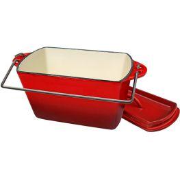 Cast Iron Enamel Bread Pot, 2.2 Litre