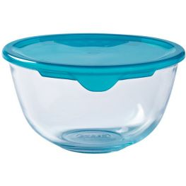 Prep & Store Round Glass Bowl With Lid